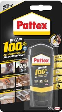 Pattex 100% lijm, tube van 50 g, op blister