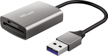 Trust Dalyx USB 3.2 snelle geheugenkaartlezer