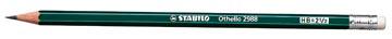 STABILO Othello potlood, B, met gum