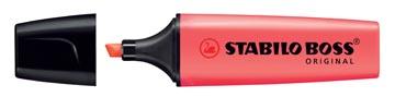 STABILO BOSS ORIGINAL markeerstift, rood