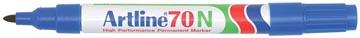 Permanent marker Artline 70 blauw