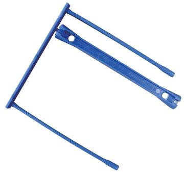 Archiefbinder E-clip, blauw