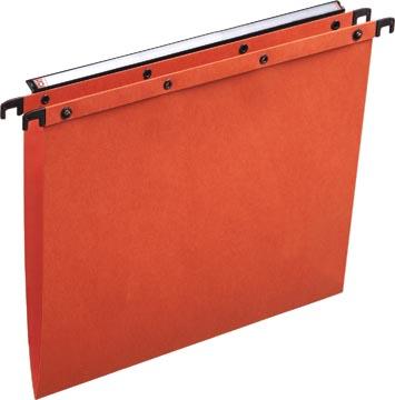 L'Oblique hangmappen voor laden AZO tussenafstand 330 mm (A4), V-bodem, oranje
