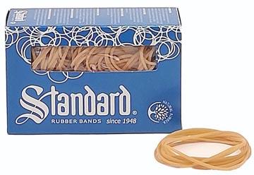 Standard elastieken 1,5 x 80 mm, doos van 100 g