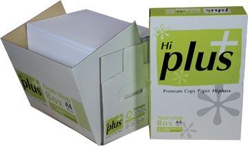 Hi-Plus Premium kopieerpapier ft A4, 75 g, doos van 2500 vel