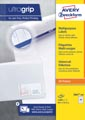 Avery Zweckform 3667-2, Universele etiketten, Ultragrip, wit, 100 vel, 64 per vel, 48,5 x 16,9 mm